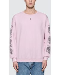 Sasquatchfabrix - Oriental Sleeve Sweatshirt - Lyst