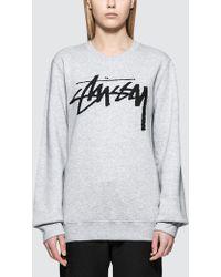 Stussy - Old Stock Sweatshirt - Lyst