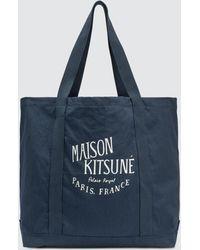 Maison Kitsuné - Palais Royal Tote Bag - Lyst