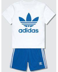 adidas Originals - Shorts & T-shirt Set - Lyst