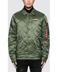 Alpha Industries | Quilted Storm Cruiser Jacket | Lyst