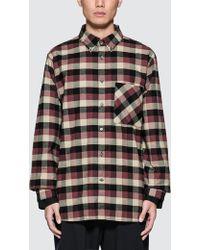 Public School - Leto L/s Shirt With Cotton Underlay - Lyst