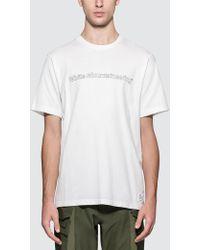 020f6806fcf8 OAMC Salgon Side-print Cotton-jersey T-shirt in White for Men - Lyst