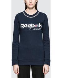 Reebok - Iconic Crew Sweatshirt - Lyst