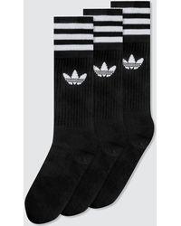 adidas Originals - Crew Socks (pack Of 3) - Lyst