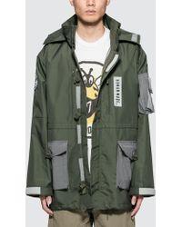 Human Made - Military Rain Jacket - Lyst