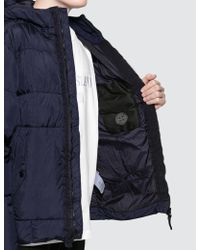Stone Island - Garment Dyed Crinkle Reps Down Jacket - Lyst