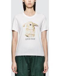 Undercover - Rabbit Short Sleeve T-shirt - Lyst