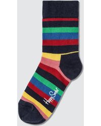 Happy Socks - Kids Stripe Sock - Lyst