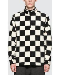 Stussy - Chequered Mock Neck - Lyst