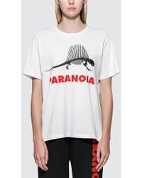 Ashley Williams - Paranoiasorus S/s T-shirt - Lyst