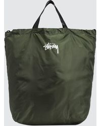 Stussy | Stock Nylon Ripstop Tote Bag | Lyst