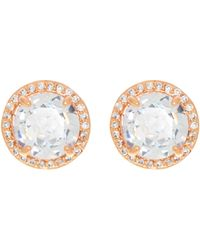 Henri Bendel | Luxe Pave Halo Stud | Lyst