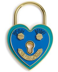 Henri Bendel - Heart Lock Scarf & Bag Charm Holder - Lyst