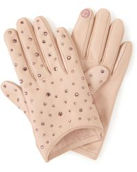 Henri Bendel - Socialite Leather Gloves - Lyst