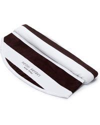 Henri Bendel - Hb Stripe Round Towel - Lyst