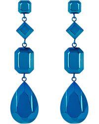 Henri Bendel - Fantasy Metallic Linear Earring - Lyst