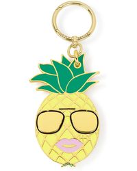 Henri Bendel - Pineapple Bag Charm - Lyst