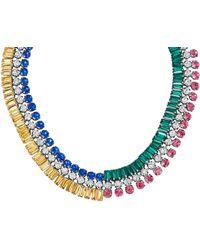Henri Bendel - Duchess Statement Collar Necklace - Lyst