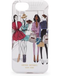 Henri Bendel - Runway Girls Graphic Case For Iphone 7/8 - Lyst