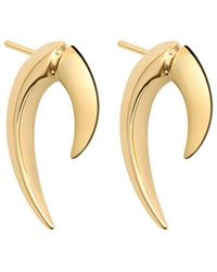 Shaun Leane | Gold And Silver Vermeil Talon Earrings Gold | Lyst