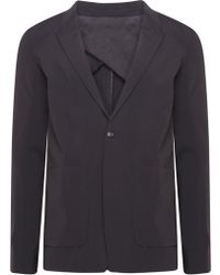 Rick Owens - One Button Faun Blazer Black - Lyst