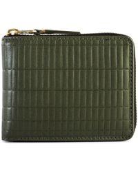 Comme des Garçons - Sa7100bk Brick Line Zip Wallet - Lyst