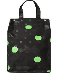 Comme des Garçons - The Beatles Polka Dot Large Shopper Bag Black - Lyst