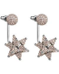 Atelier Swarovski   Kalix Pierced Earring Jackets Silver   Lyst