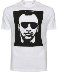 Neil Barrett - Graphic Print T-shirt - Lyst