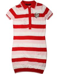 Sibling - Stripe Hot Dog Dress Red - Lyst