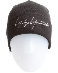 Yohji Yamamoto - New Era Signature Logo Beanie Hat - Lyst 3cf6dcc5b62