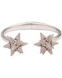 Atelier Swarovski - Kalix Star Cuff Silver - Lyst