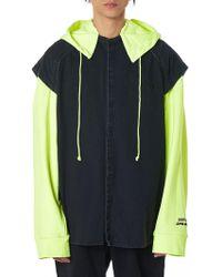 Juun.J - 'lapped' Hooded Jacket - Lyst