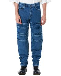 Y. Project - Tiered Denim Pant - Lyst