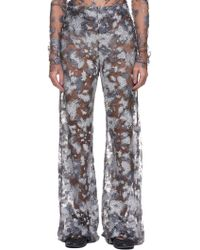 Paula Knorr - Glitter Tulle Flare Pants - Lyst 7e0851960