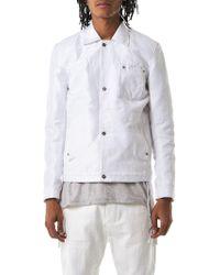 Taichi Murakami - Spread-button Denim Jacket - Lyst