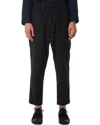 Casey Casey - Check Trouser - Lyst