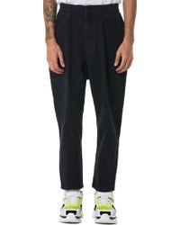 Juun.J - Elastic Waist Denim Jeans - Lyst