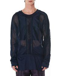 Di Liborio - Crochet Long-sleeve Tee - Lyst