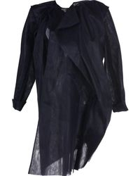 Phoebe English - Multi-layer Cut-out Coat - Lyst