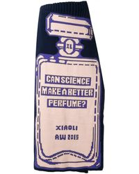 Xiao Li - Knit 'perfume' Skirt - Lyst