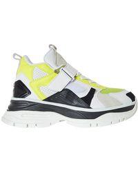 Juun.J - Chunky Heel Lace-up Sneakers - Lyst