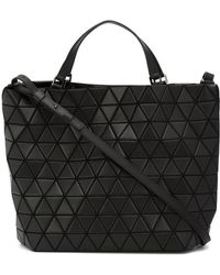 Issey Miyake - Structured Prism Tote - Lyst