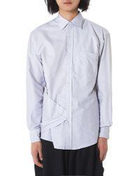 Moohong - Double Layer Shirt - Lyst