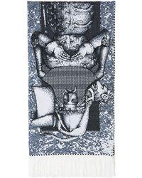 Y. Project - Intarsia Knit Scarf - Lyst