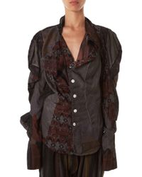 Vivienne Westwood - Graphic Cowled Button-down - Lyst