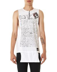 99% Is | Graphic Tank | Lyst