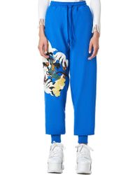 Angel Chen - Mixed Embroidery Joggers - Lyst
