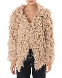 Ryan Roche - Fringe Knit Jacket - Lyst